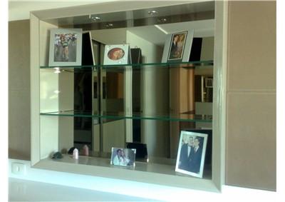 Estante De Vidro Temperado : Fabricação de prateleira de vidro temperado em fortaleza construção