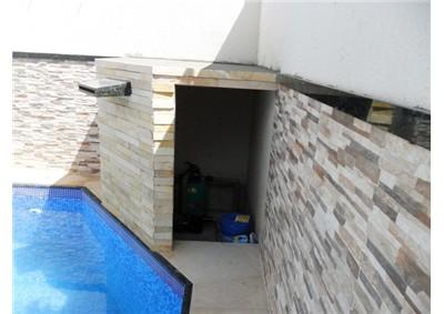 Cascata para piscina cascata para piscina carregando zoom for Piscina tubular pequena